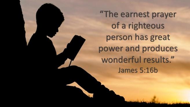 James 5.16